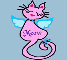 ♔♥Swanky Angelic Kitty-Cat Clothing & Stickers♥♔  Womens Fitted T-Shirt