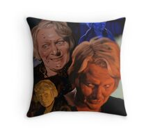 Sheila Keith in Frightmare Throw Pillow