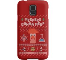 Meepers Gonna Meep - Ugly Christmas Samsung Galaxy Case/Skin