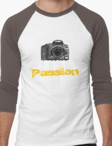 Professional Photographer - Passion Included Men's Baseball ¾ T-Shirt