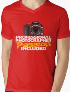 Professional Photographer - Passion Included Mens V-Neck T-Shirt