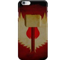 Winged Hammer iPhone Case/Skin