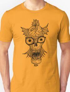 Monster Mondays #1 - Fishy Monster - Black Lines T-Shirt