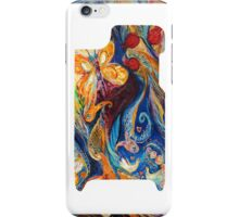 "iPhone skin based on my original artwork ""Longing for Chagall"" iPhone Case/Skin"
