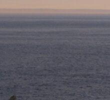 St. Anthony at dusk Sticker
