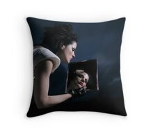 The woman who fell to Camden Town, London, England Throw Pillow
