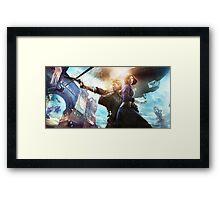 Bioshock infinite gun Framed Print