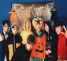 Halloween BTS by KPOPday