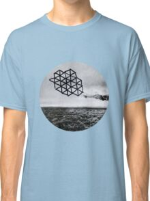 Landscape of Geometry Circular Sticker Classic T-Shirt
