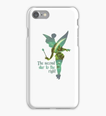 Tinkerbell Silhouette iPhone Case/Skin
