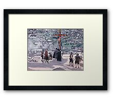 The Journey Part 3 Framed Print