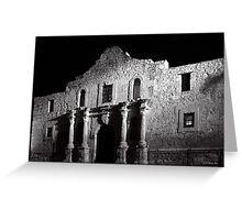Night At The Alamo Greeting Card