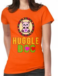 ♥ټSuper Cute Panda HuggleBoo Clothing & Stickersټ ♥ Womens Fitted T-Shirt