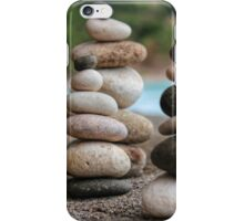 Stacked Pebbles 04 iPhone Case/Skin