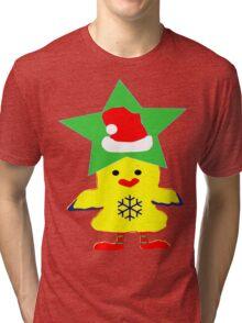 ★㋡ټHipHop Santa Chicken Fantabulous Clothing & Stickersټ㋡★ Tri-blend T-Shirt
