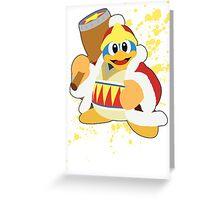 King Dedede - Super Smash Bros Greeting Card