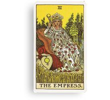 Tarot Card - The Empress Canvas Print