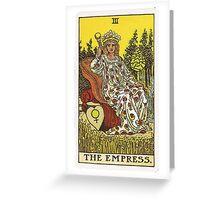 Tarot Card - The Empress Greeting Card