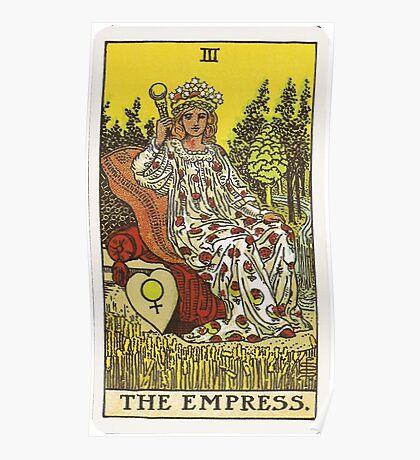 Tarot Card - The Empress Poster