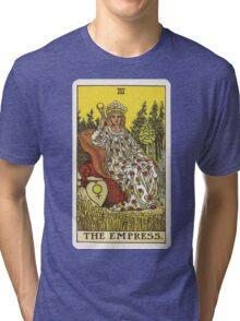 Tarot Card - The Empress Tri-blend T-Shirt