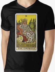 Tarot Card - The Empress Mens V-Neck T-Shirt