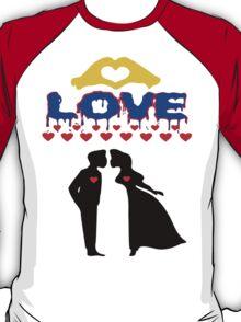 ۞»♥Romantic Love:Lovely Couples Kissing Splendiferous Clothing & Stickers♥«۞ T-Shirt