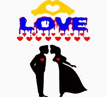 ۞»♥Romantic Love:Lovely Couples Kissing Splendiferous Clothing & Stickers♥«۞ Womens Fitted T-Shirt