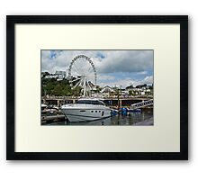 The Princess and the Wheel Framed Print