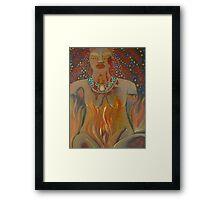Goddess of Sacred Fire ~ Pele Framed Print