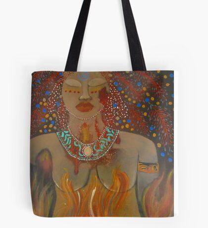 Goddess of Sacred Fire ~ Pele Tote Bag