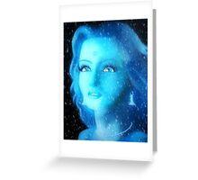 Blue Ash Greeting Card