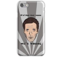 Dr Gregory House  iPhone Case/Skin