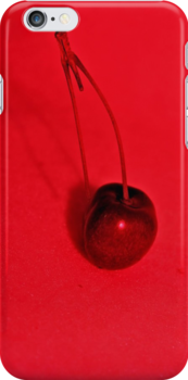 Cherry Red [iPhone - iPod Case/Skin] by aprilann