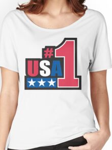 Veteran's Day USA #1 T-Shirt Women's Relaxed Fit T-Shirt