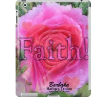 Angels Pink Rose of Faith iPad Case/Skin