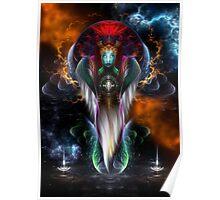 Riddian Queen Royal Regalia Poster