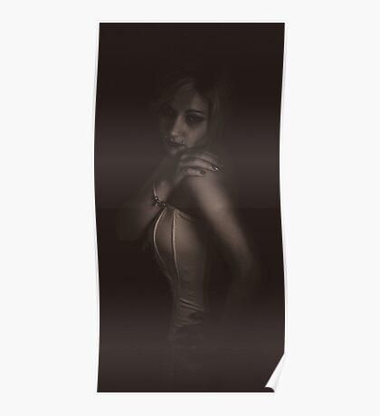 Natalie in Vintage Light Poster