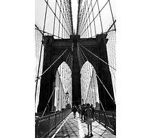 Brooklyn Bridge NYC Photographic Print