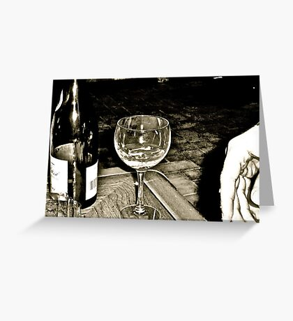 Wine Night Greeting Card