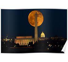 Hunters Moon - Washington D.C. Poster