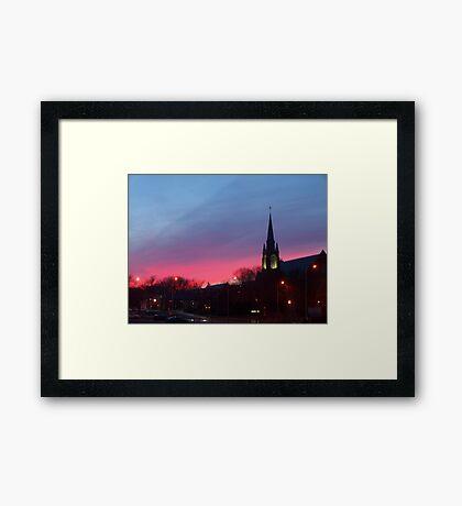 Twilight Sanctuary Framed Print