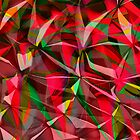 A Colorful Background Blend by Kellice