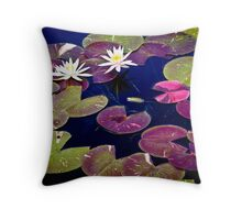 Waterlillies at Phipps  Throw Pillow