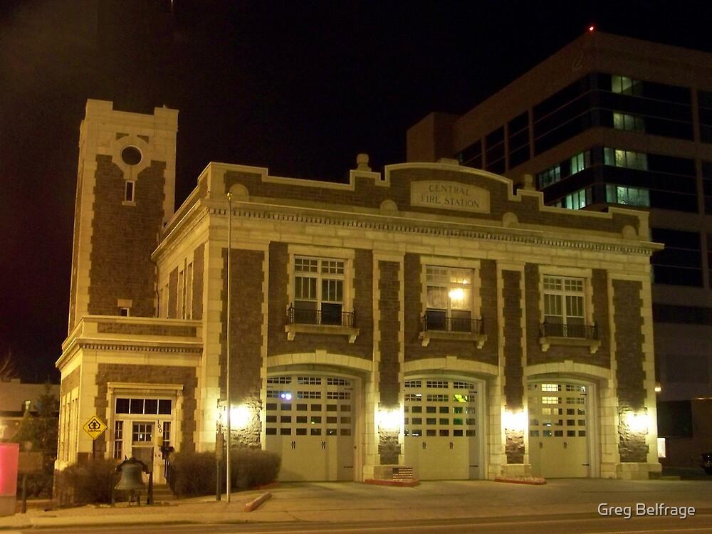 Central Fire Station by Greg Belfrage