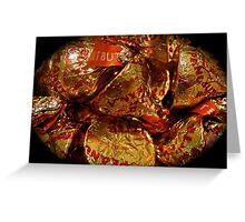 Chocolate Kisses Greeting Card