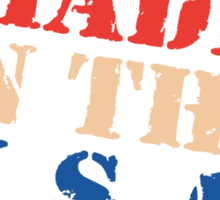 """Veteran's Day """"Made In The USA"""" T-Shirt Sticker"""