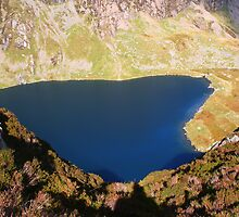 Liyn Cau Lake - Cadair Idris - South Snowdonia - Wales by Paul Bettison