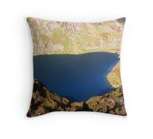 Liyn Cau Lake - Cadair Idris - South Snowdonia - Wales Throw Pillow