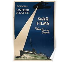 Official United States war films now being shown 002 Poster