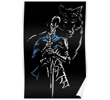 Knight & Wolf Poster